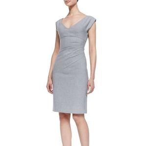EUC Diane Von Furstenberg Gray Bevin Dress   DVF